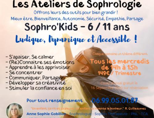 SOPHRO ' KIDS 6/11 ans