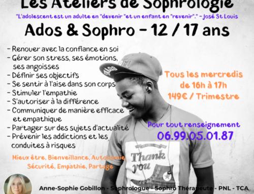 ADOS & SOPHRO 12/17 ans 
